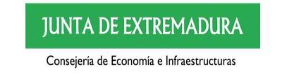 logo Junta de Extremadura Consejeria de Economía e infraestructuras